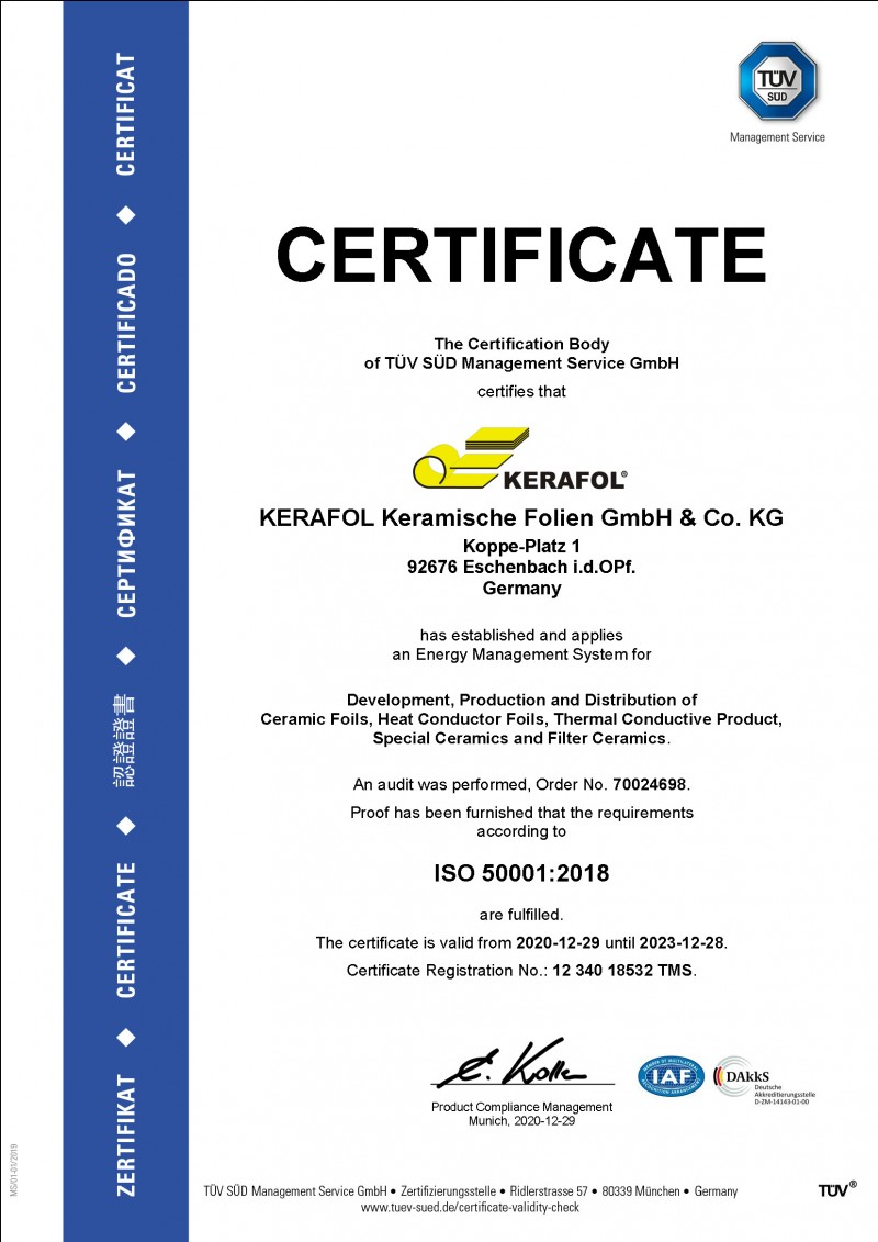 ISO 50001:2018